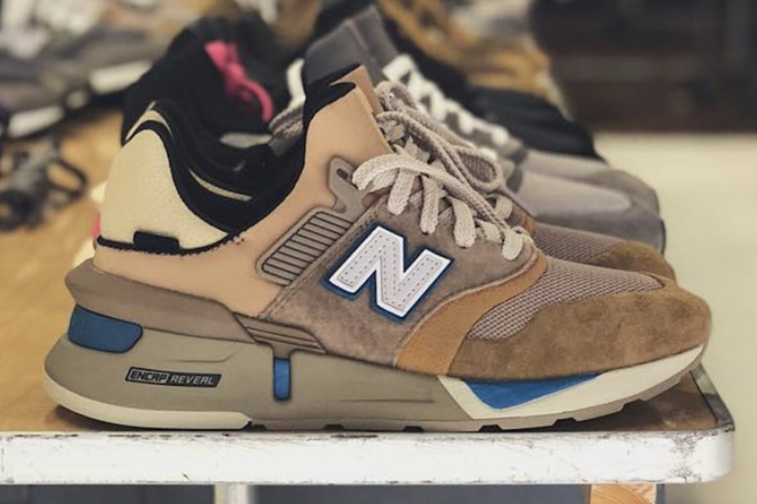 the latest d8e8c d7a9e Ronnie Fieg Teases Kith x New Balance 2018 – Kickbeast