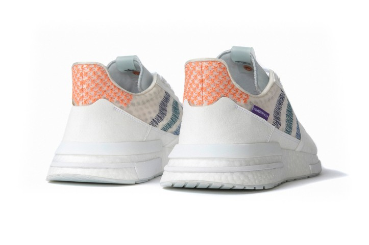 882799ebe ... ZX 500 model that has been mounted on their BOOST midsole. The  modernized silhouette has appeared in multiple colorways