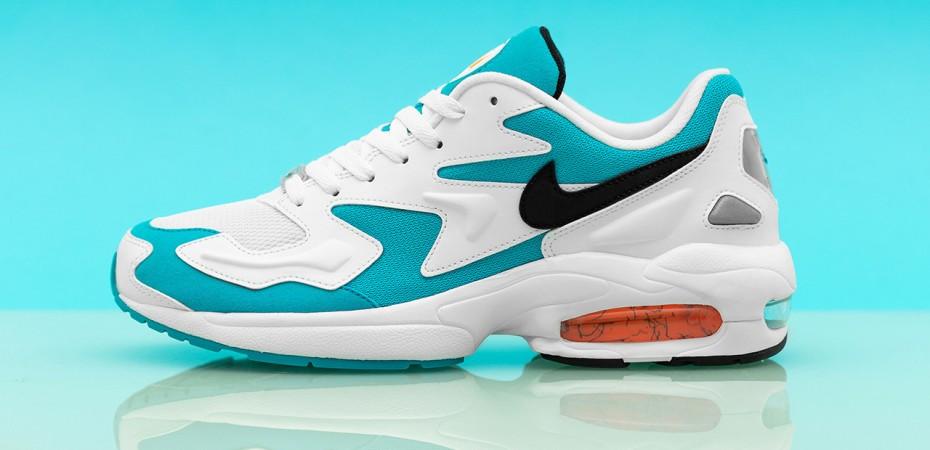 7c01ec0664fe Nike Reveals Air Max2 Light OG  Blue Lagoon  Colorway – Kickbeast